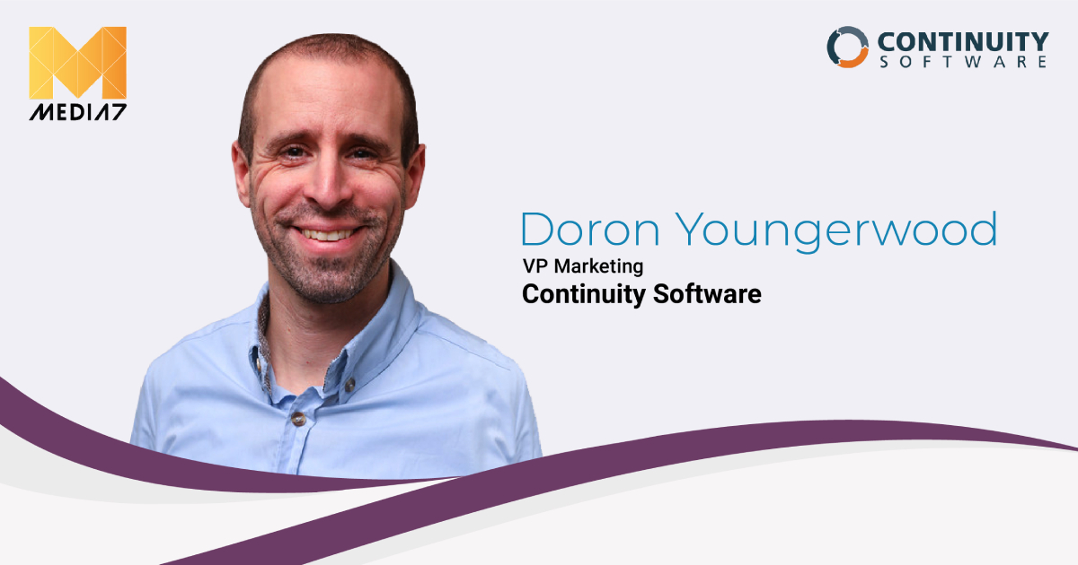 Q&A with Doron Youngerwood, VP Marketing at Continuity Software