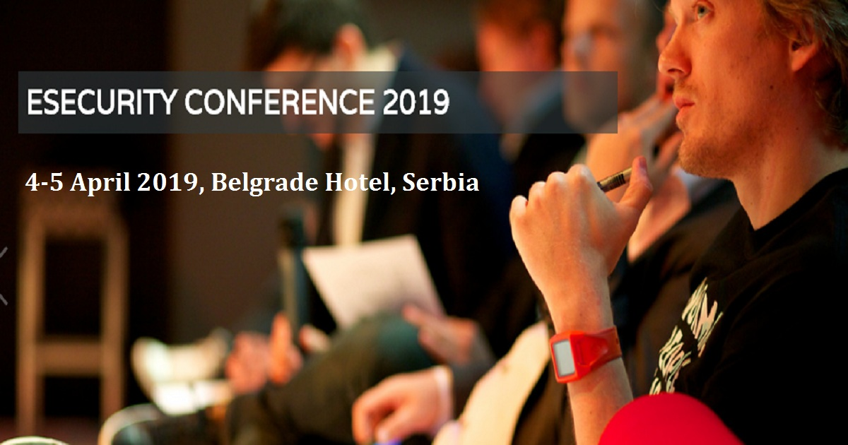 ESECURITY CONFERENCE 2019