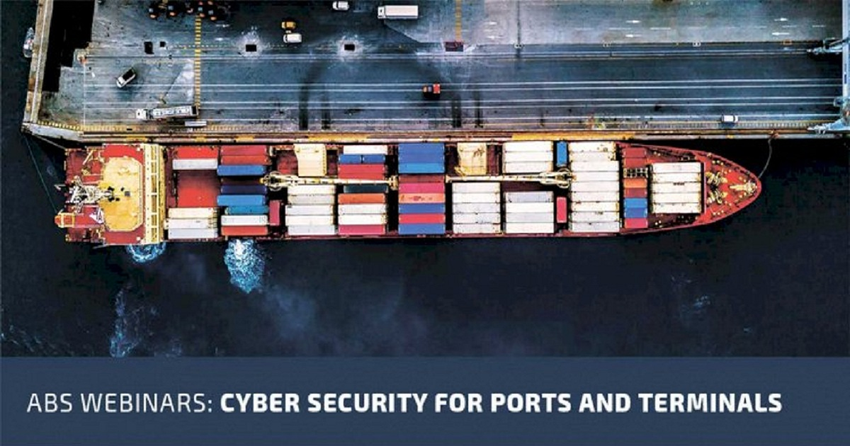 Cyber Security for Ports and Terminals Webinar