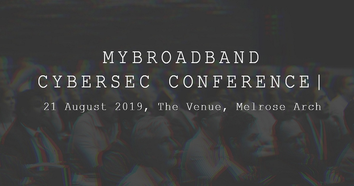 MYBROADBAND CYBERSEC CONFERENCE