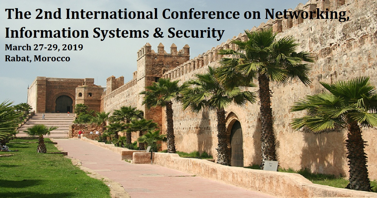The 2nd International Conference on Networking, Information Systems & Security