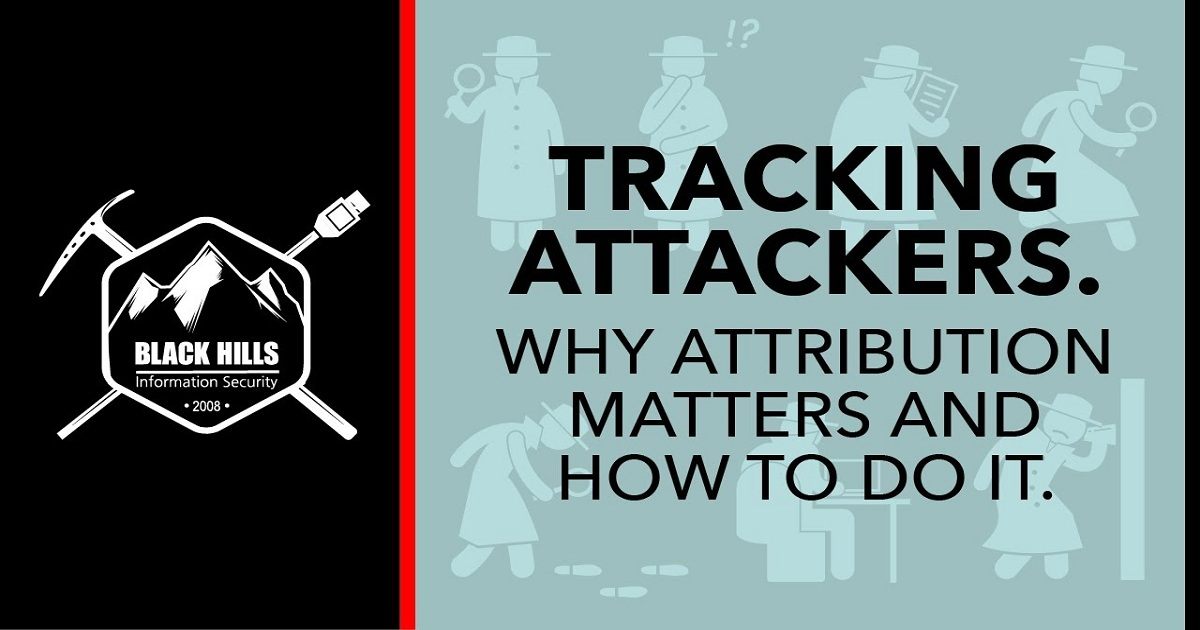 Tracking attackers. Why attribution matters and how to do it