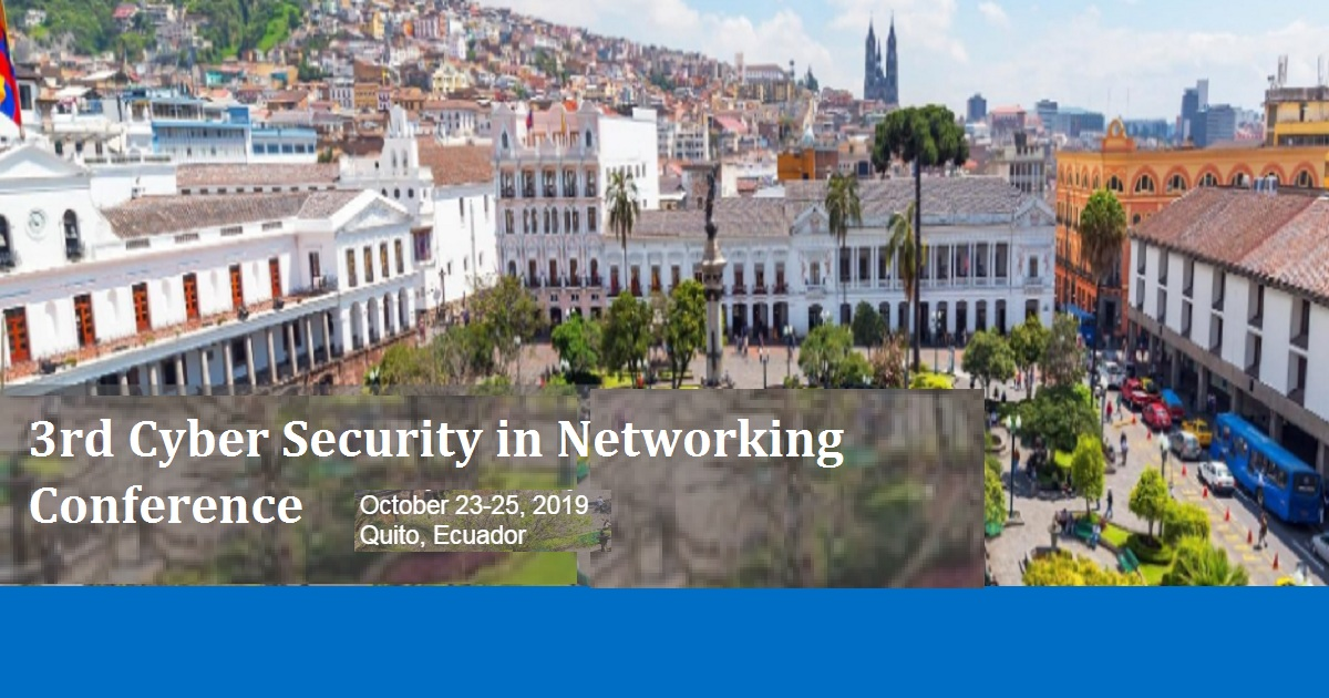 3rd Cyber Security in Networking Conference