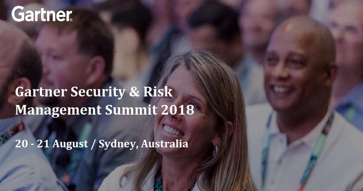 Gartner Security & Risk Management Summit 2018