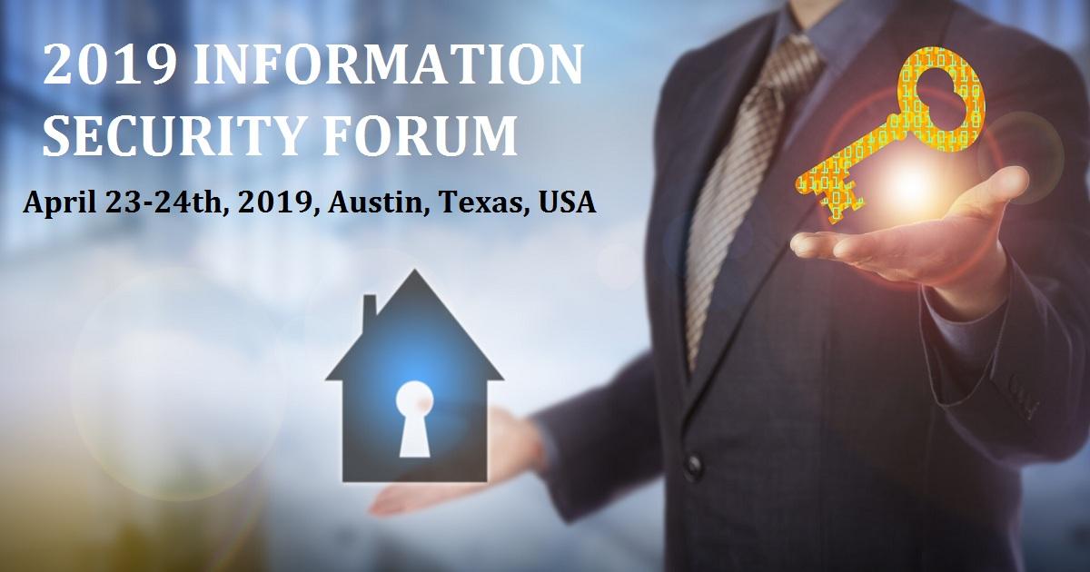 2019 INFORMATION SECURITY FORUM
