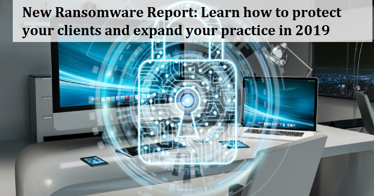 New Ransomware Report: Learn how to protect your clients and expand your practice in 2019