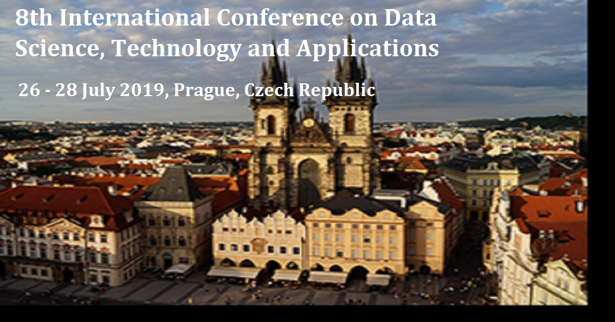 8th International Conference on Data Science, Technology and Applications