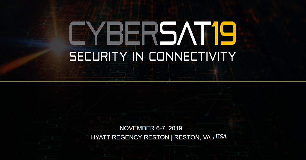 CYBERSAT19 SECURITY IN CONNECTIVITY