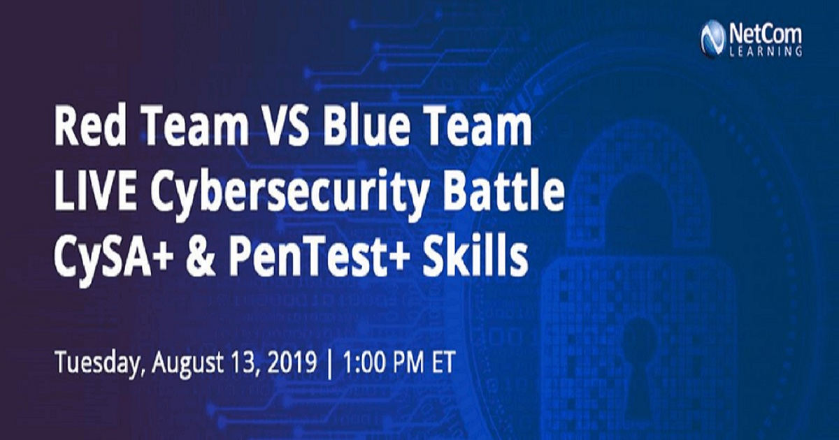 Red Team VS Blue Team LIVE Cybersecurity Battle CySA+ & PenTest + Skills