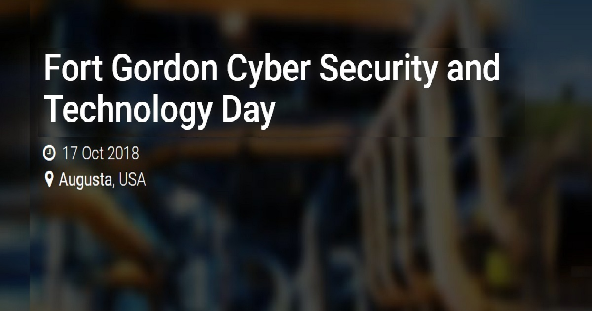 Fort Gordon Cyber Security and Technology Day