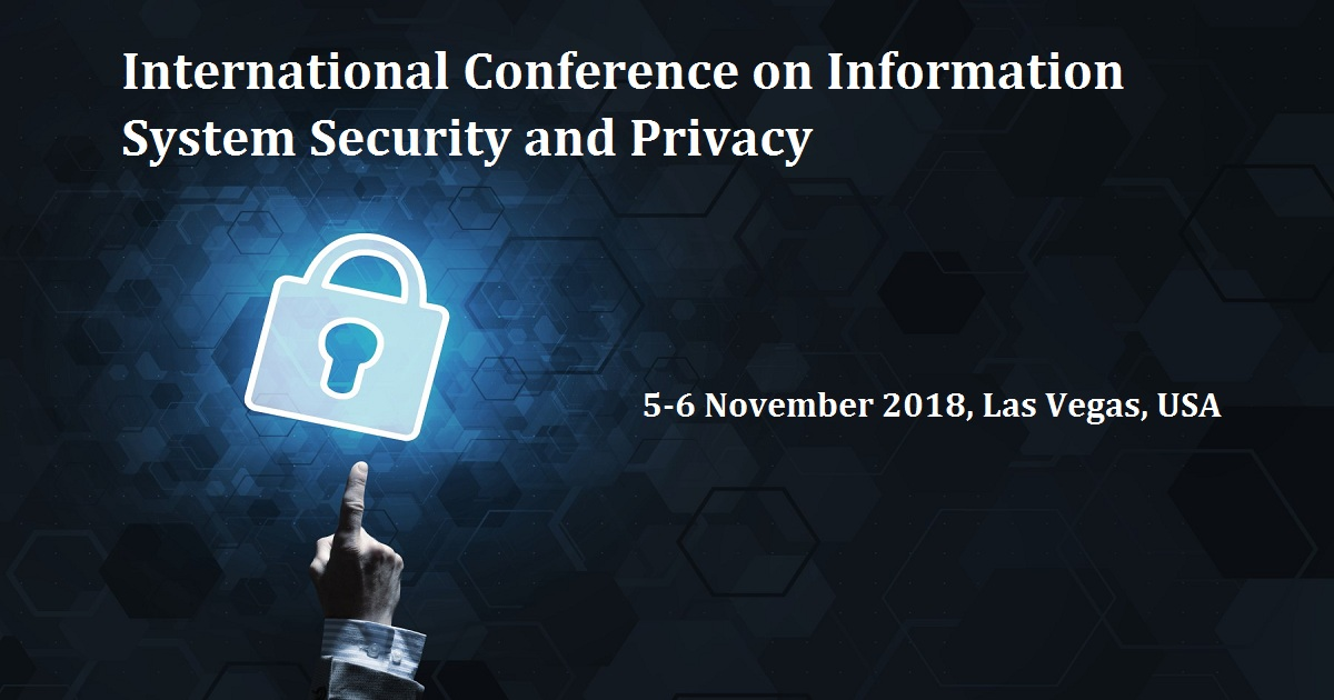 International Conference on Information System Security and Privacy