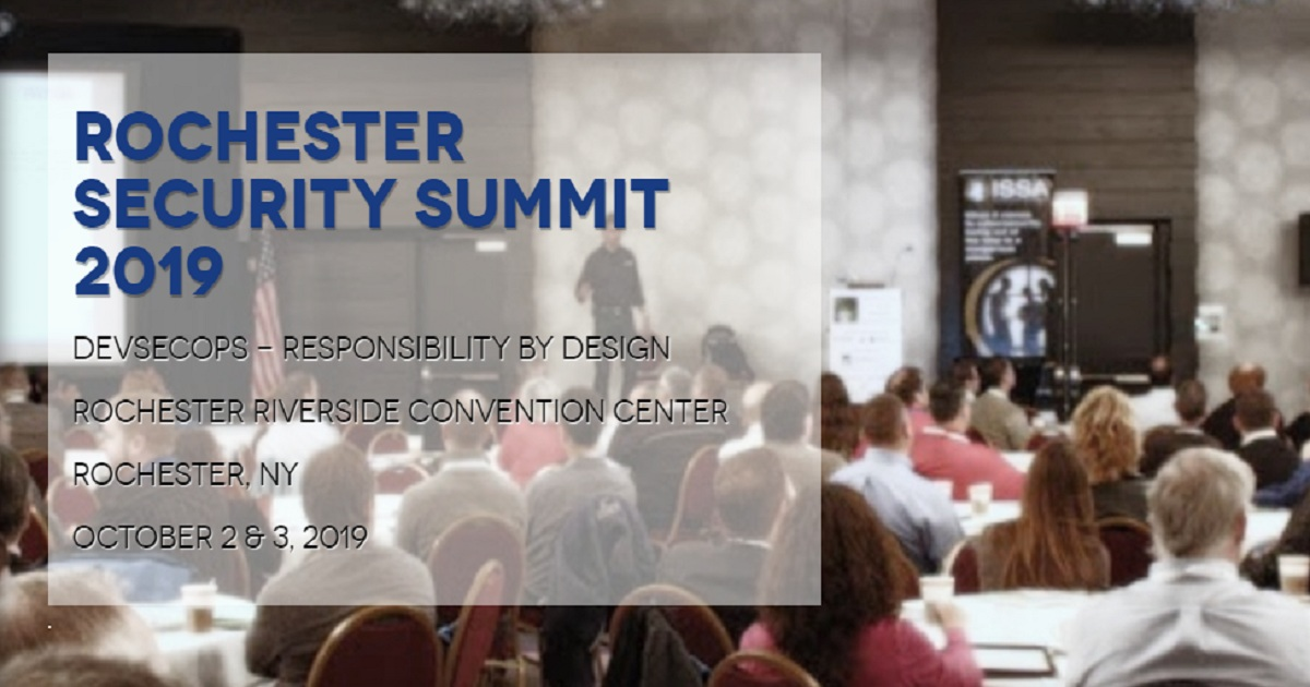 Rochester Security Summit 2019