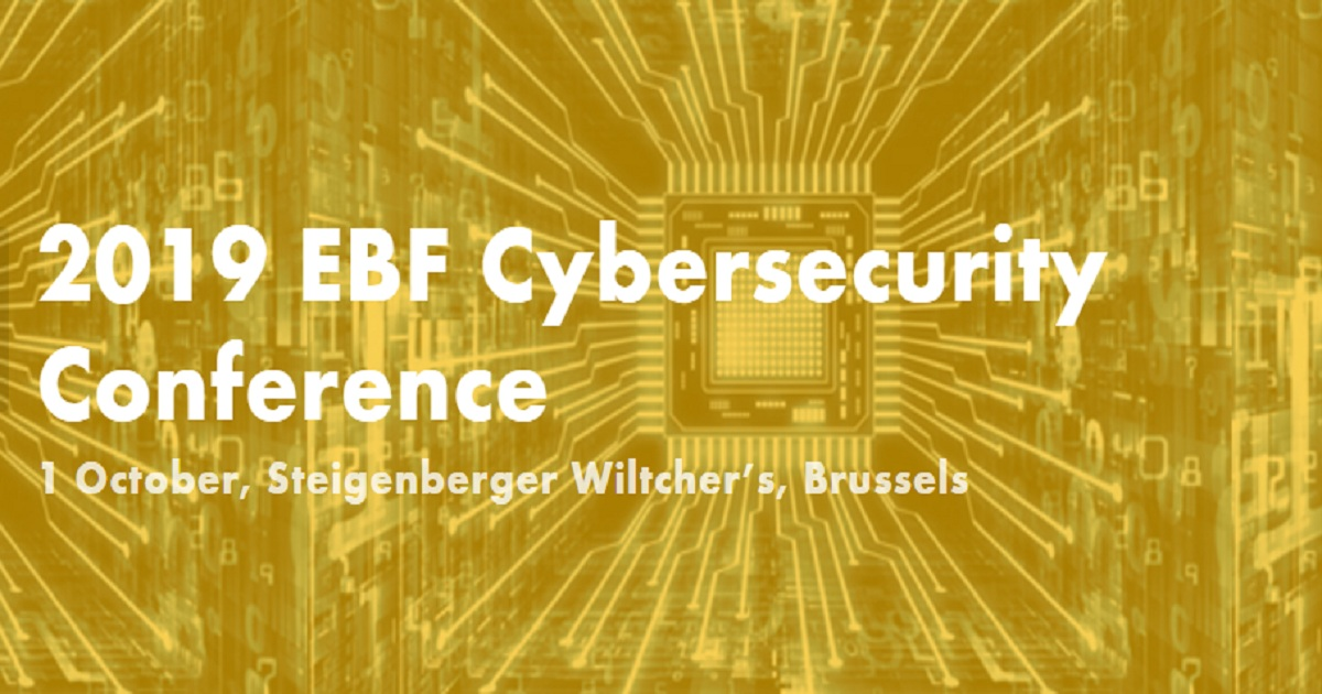 2019 EBF Cybersecurity Conference