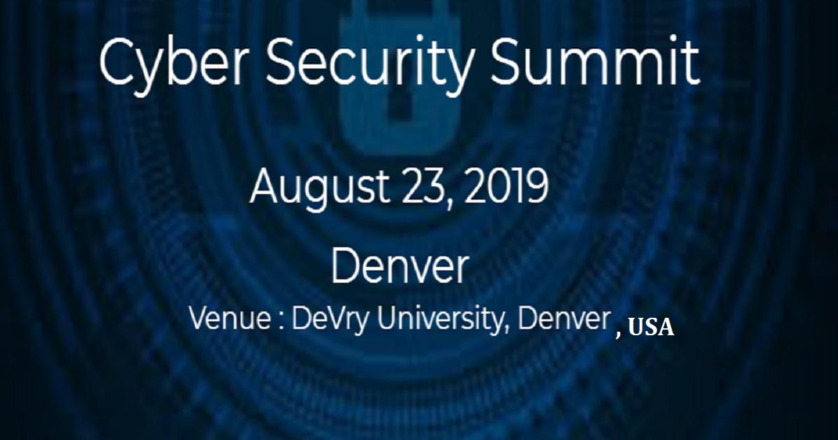 Cyber Security Summit Denver