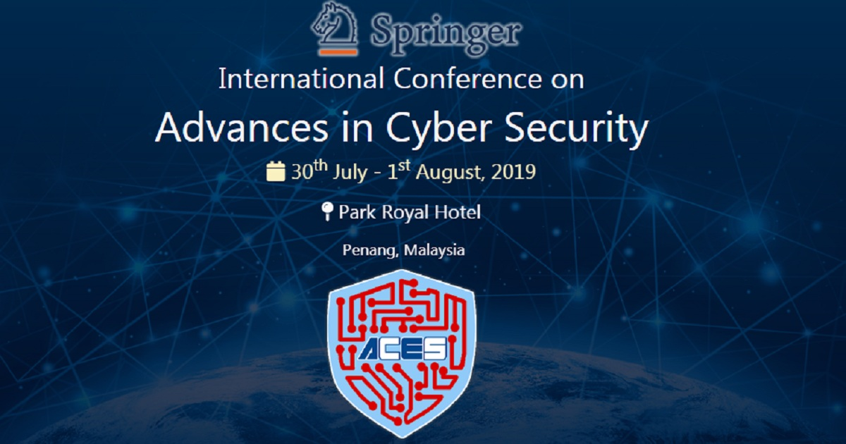 International Conference on Advances in Cyber Security