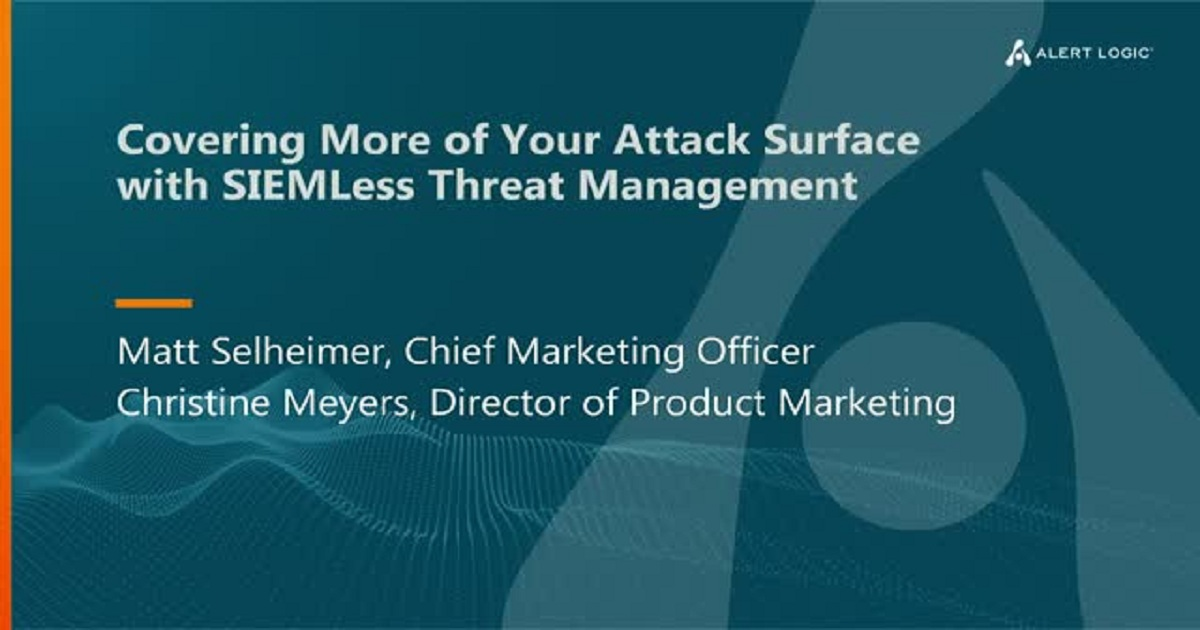 Extend your Attack Surface Coverage with No SIEM Required