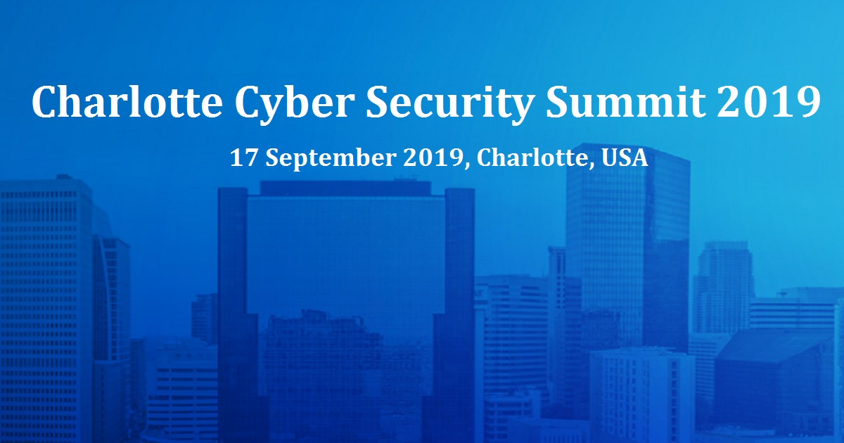 Charlotte Cyber Security Summit 2019