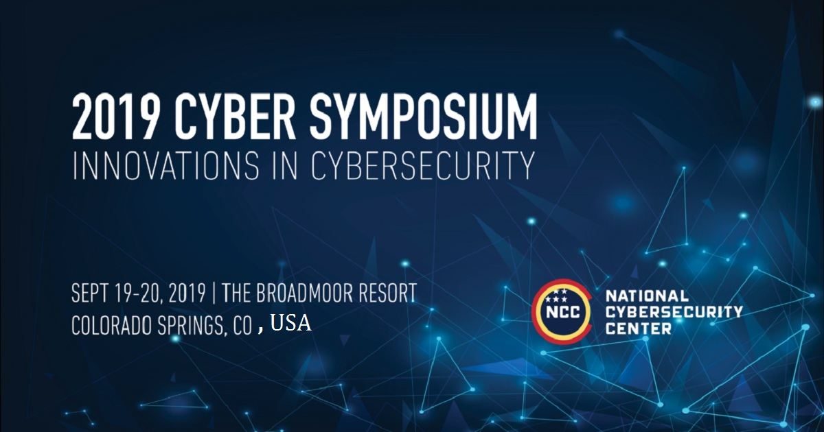 2019 CYBER SYMPOSIUM INNOVATIONS IN CYBERSECURITY