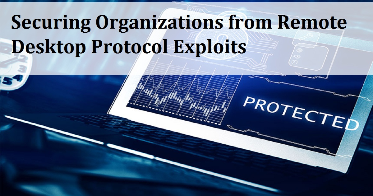 Securing Organizations from Remote Desktop Protocol Exploits