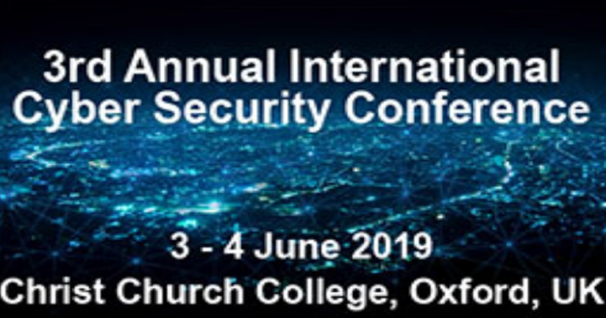 3rd Annual International Cyber Security Conference