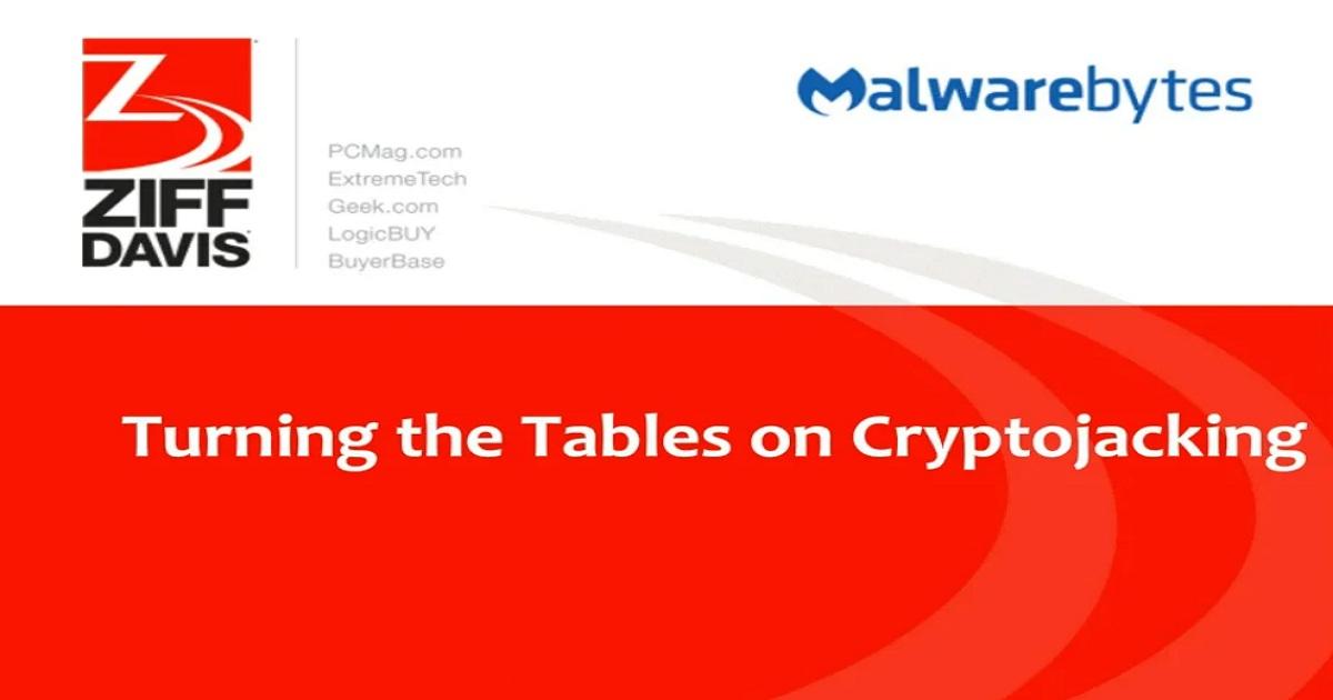 Turning the Tables on Cryptojacking
