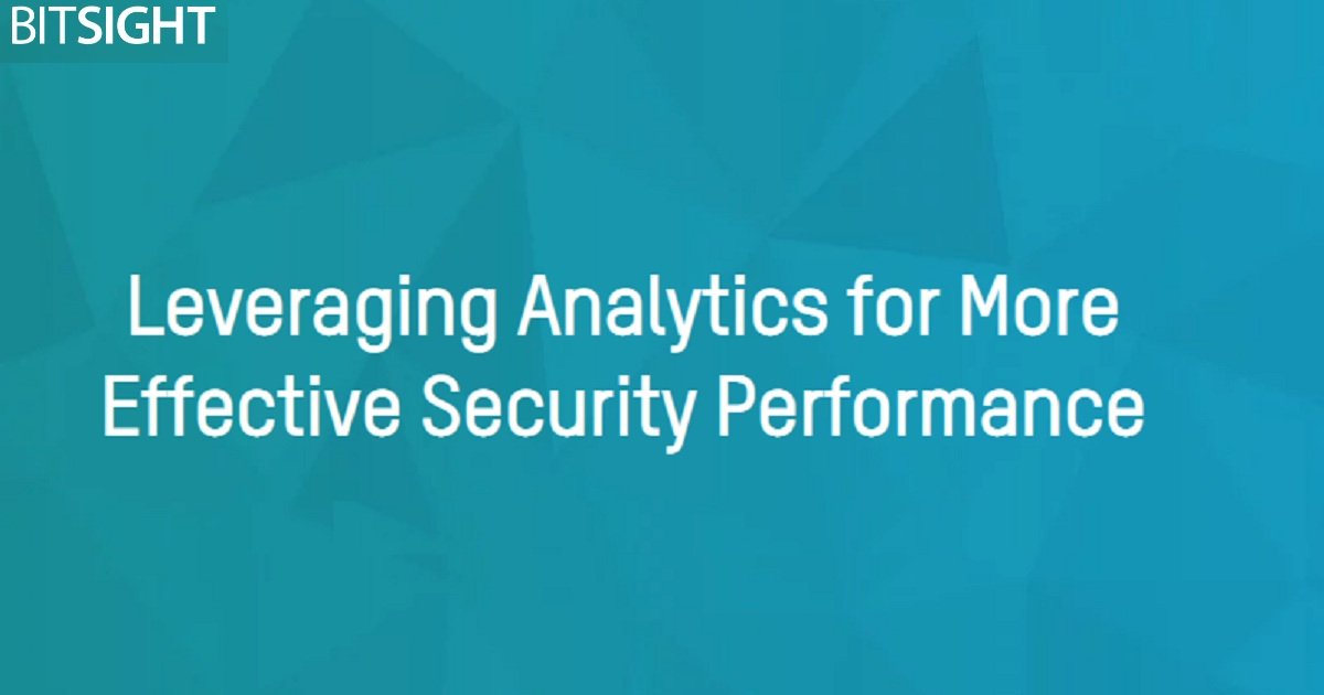 Leveraging Analytics for More Effective Security Performance