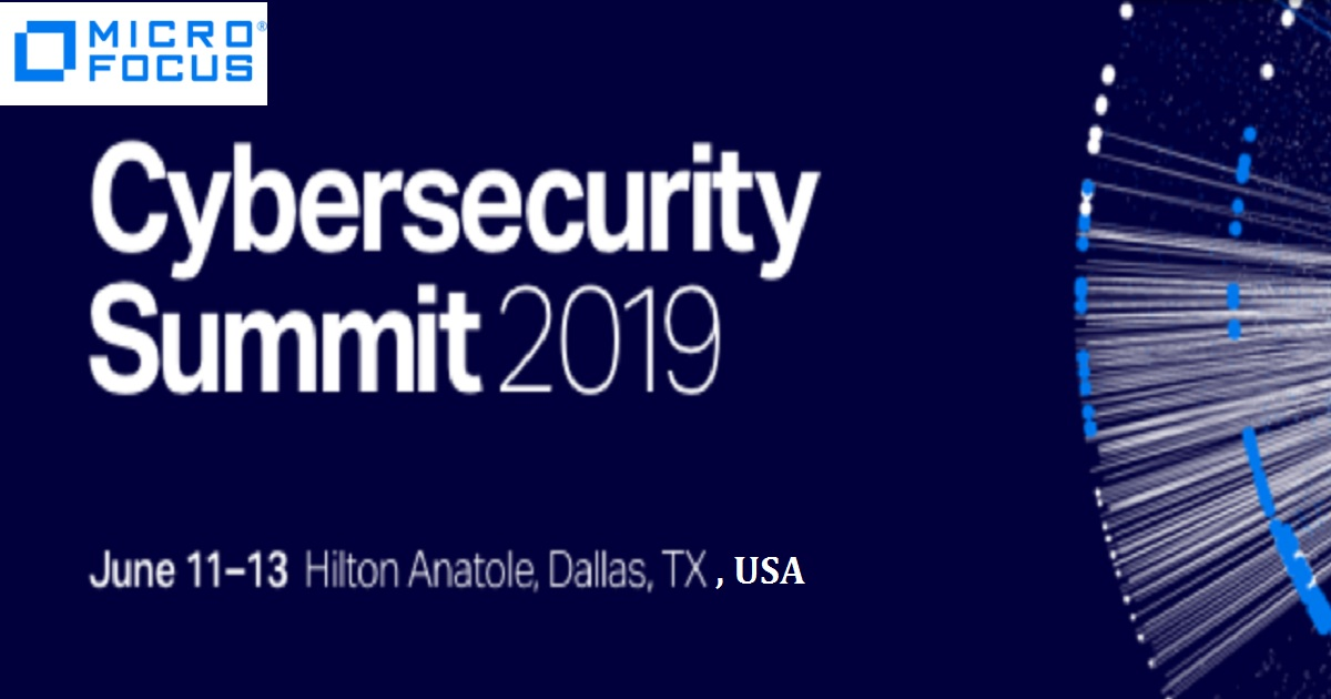 Micro Focus Cybersecurity Summit 2019