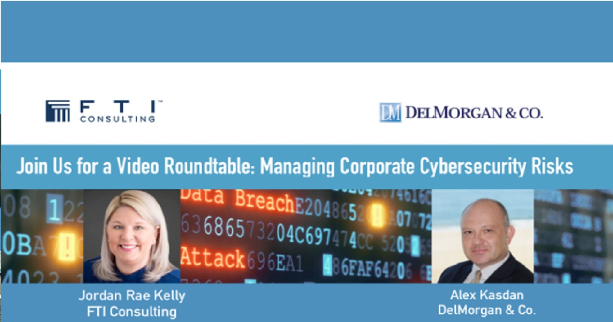 Managing Corporate Cybersecurity Risks