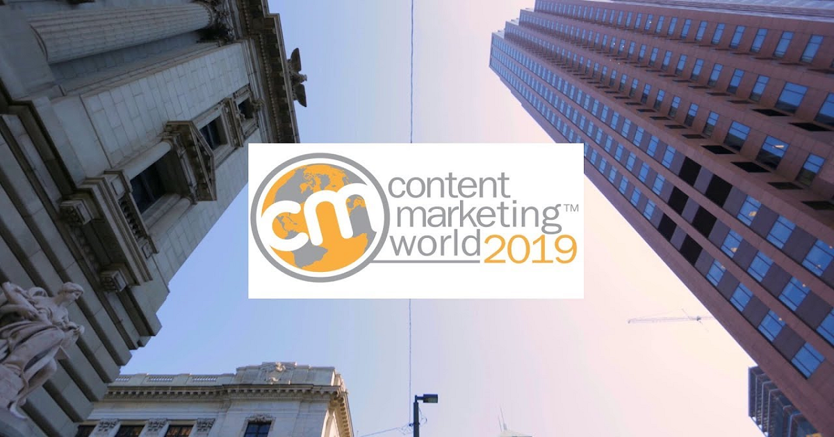 CONTENT MARKETING WORLD CONFERENCE AND EXPO