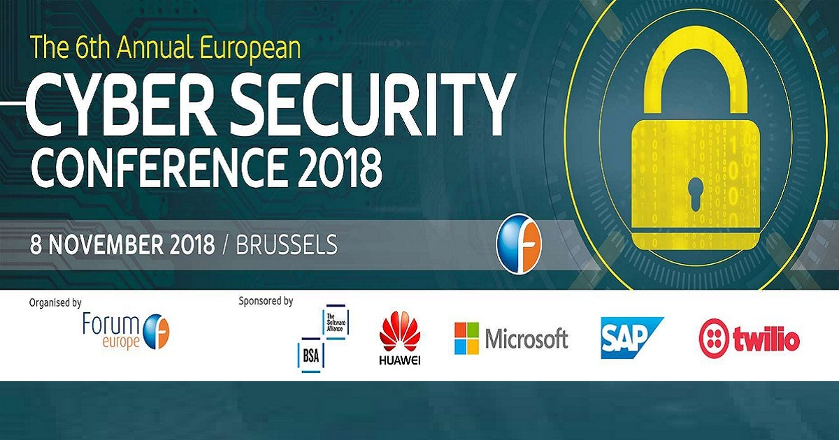 The 6th annual European Cyber Security Conference 2018