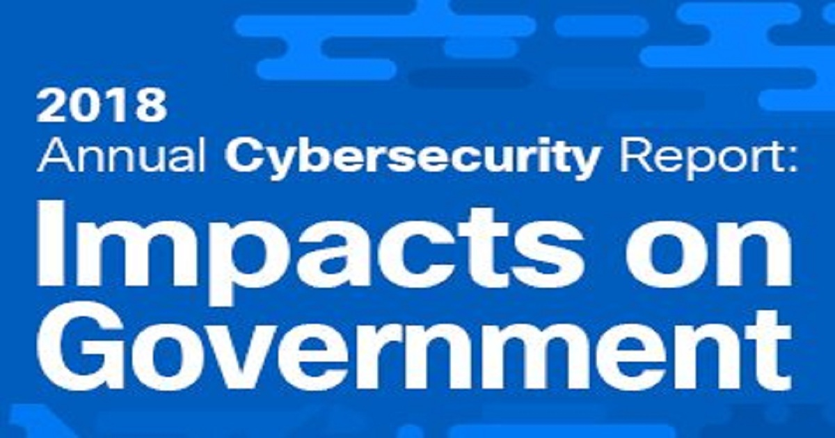 ANNUAL CYBERSECURITY REPORT: IMPACTS ON GOVERNMENT