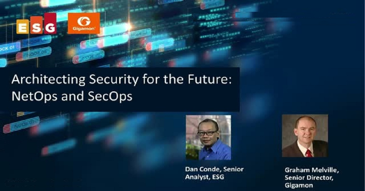 Architecting Security for the Future: NetOps and SecOps