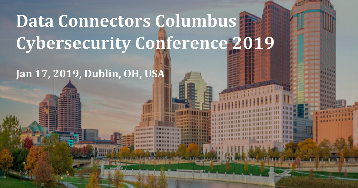 Data Connectors Columbus Cybersecurity Conference 2019