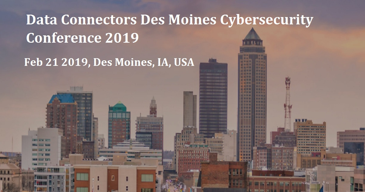 Data Connectors Des Moines Cybersecurity Conference 2019