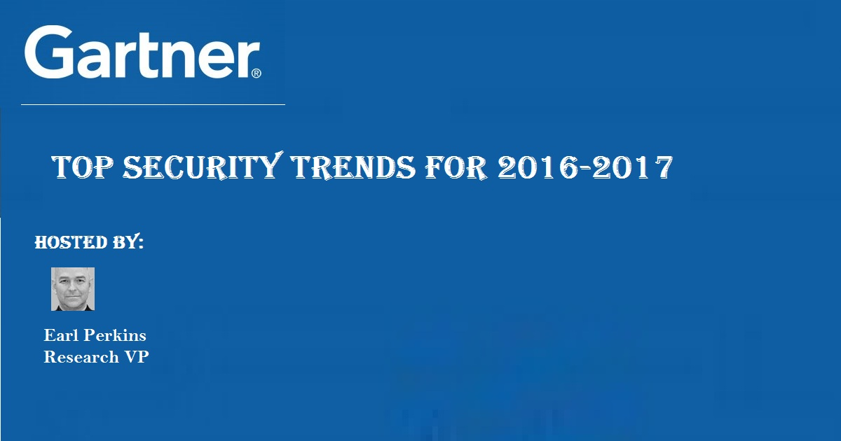 Top Security Trends for 2016-2017