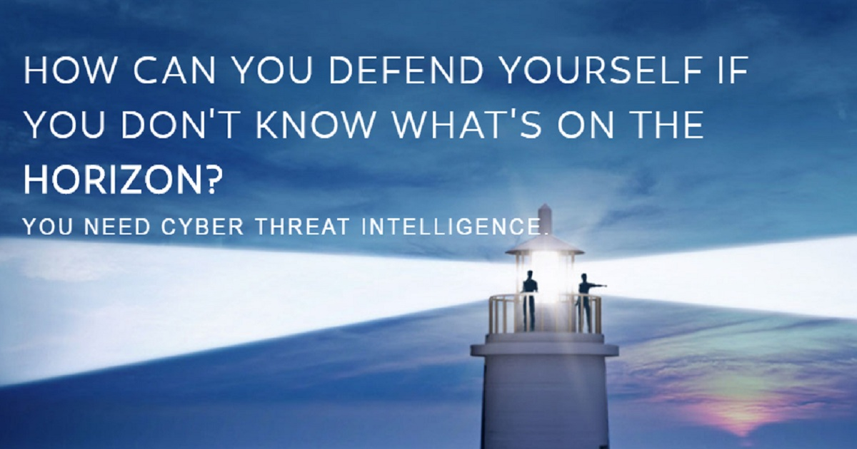 HOW CAN YOU DEFEND YOURSELF IF YOU DON'T KNOW WHAT'S ON THE HORIZON?