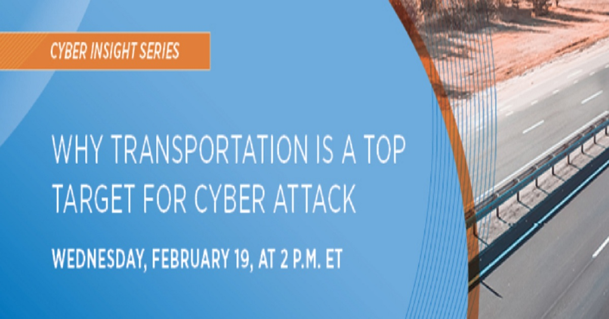 Why Transportation is a Top Target for Cyber Attack