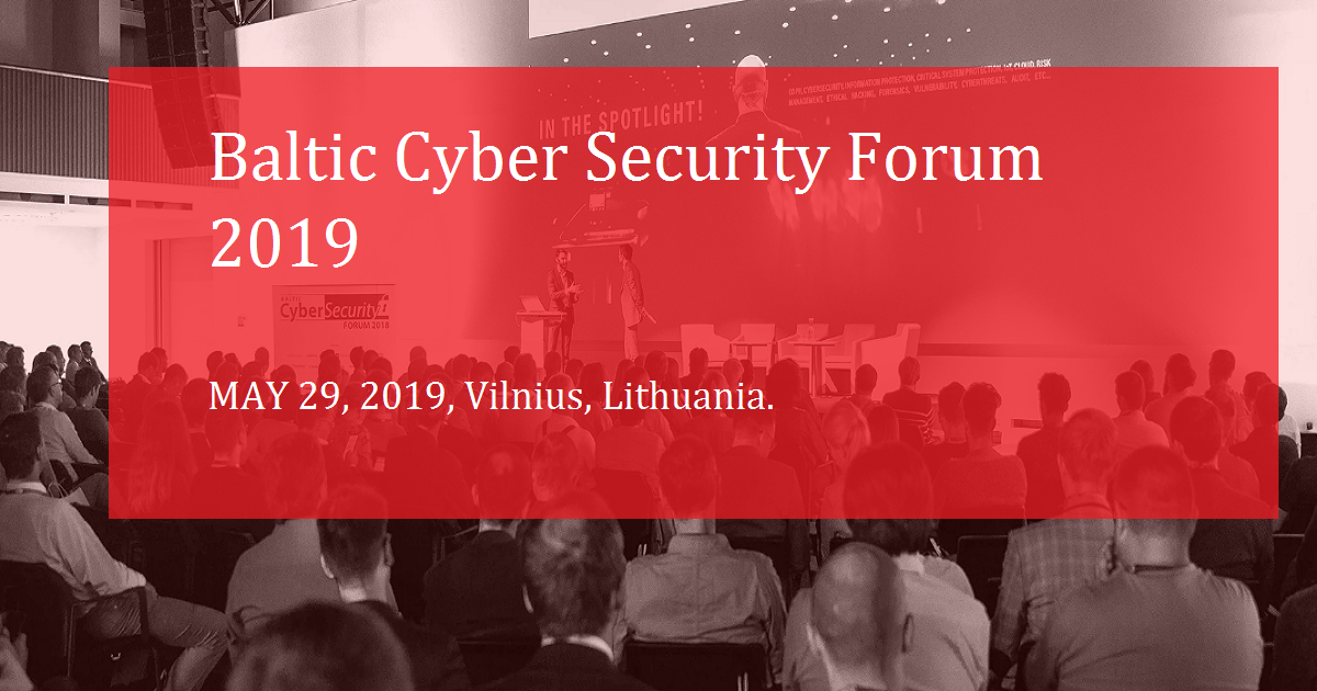 Baltic Cyber Security Forum 2019