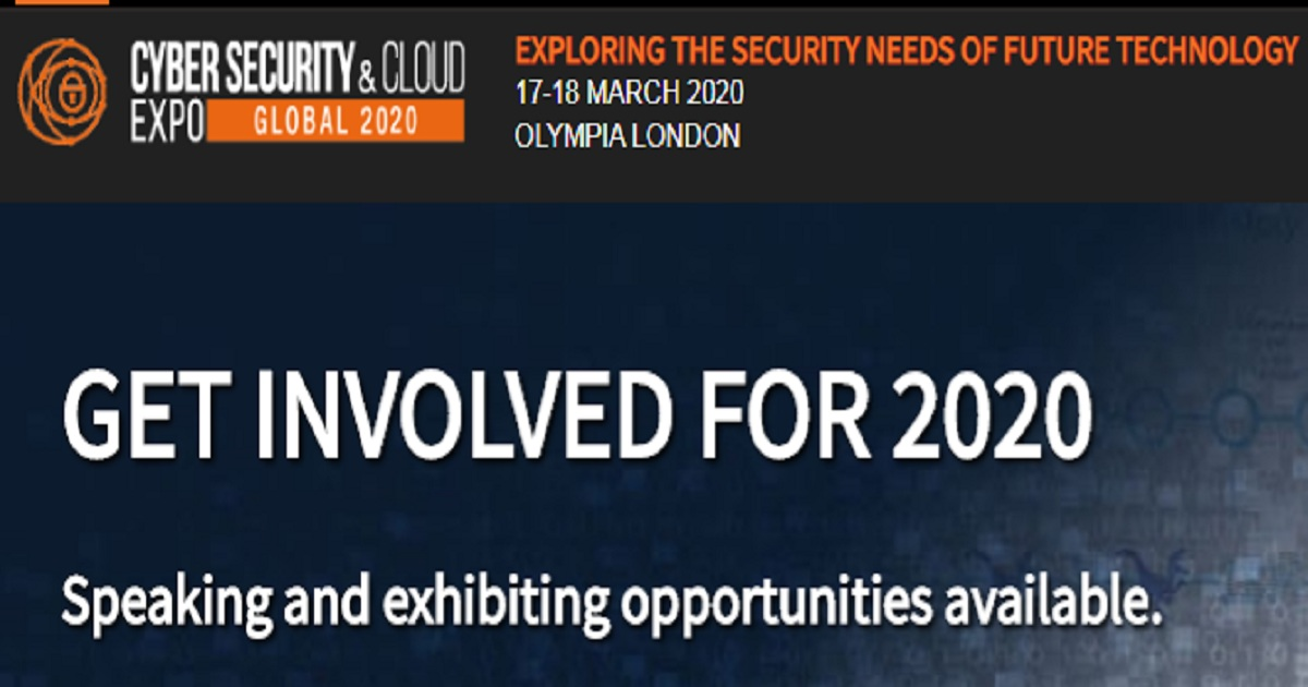 Cybersecurity and Cloud Expo global 2020