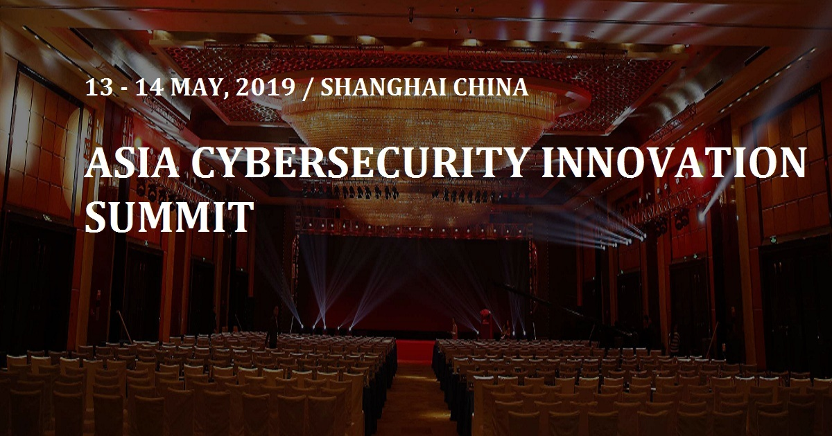 ASIA CYBERSECURITY INNOVATION SUMMIT