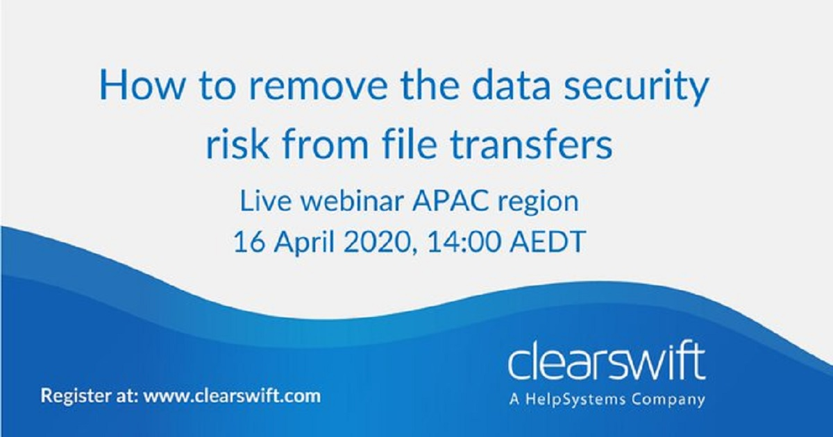 How to remove the data security risk from file transfers