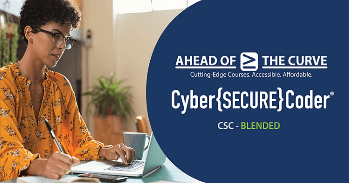 Cyber Secure Coder (CSC) - BLENDED