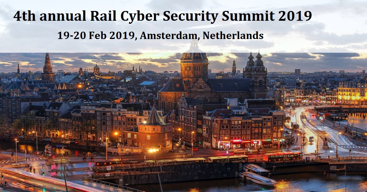 4th annual Rail Cyber Security Summit 2019