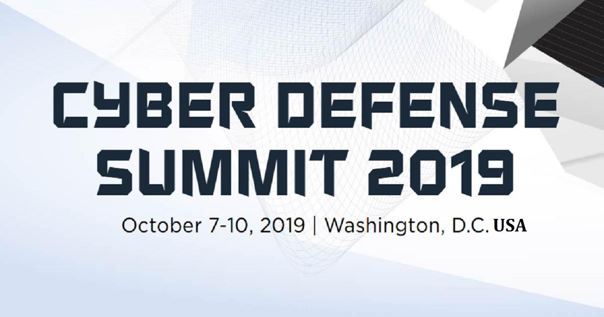 CYBER DEFENSE SUMMIT 2019