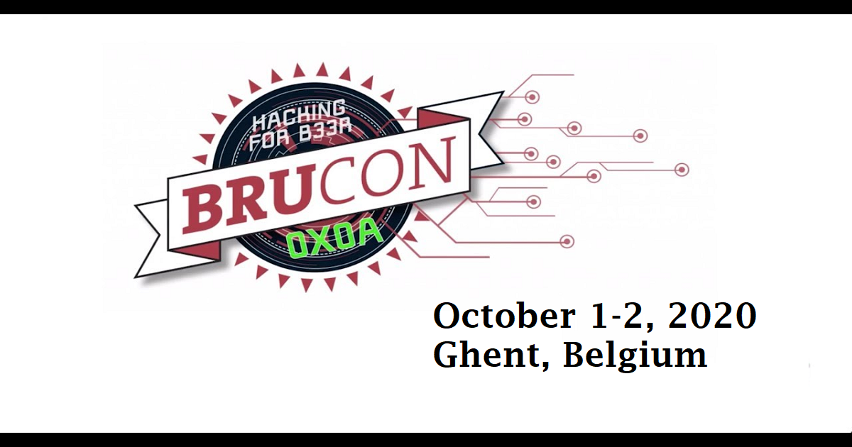 BruCON is an annual security and hacker Conference