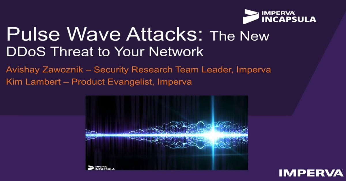 Pulse Wave Attacks: The New DDoS Threat to Your Network