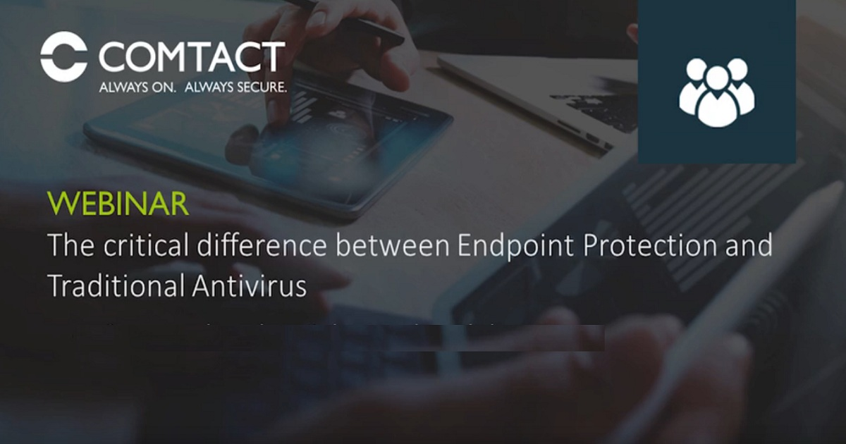 THE DIFFERENCE BETWEEN ENDPOINT PROTECTION AND TRADITIONAL ANTIVIRUS