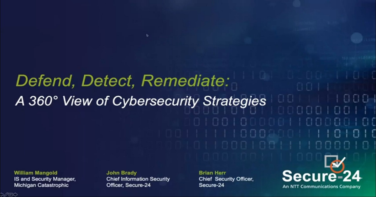 DEFEND, DETECT, AND REMEDIATE: A 360° VIEW OF CYBERSECURITY STRATEGIES