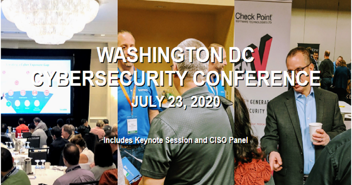 WASHINGTON DC CYBERSECURITY CONFERENCE
