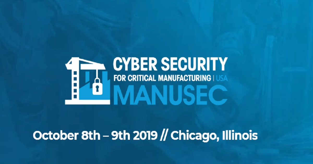 Cyber security for critical manufacturing USA